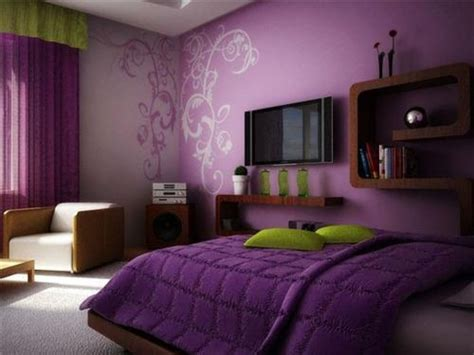 purple walls bedroom purple wall mirrors interior design ideas
