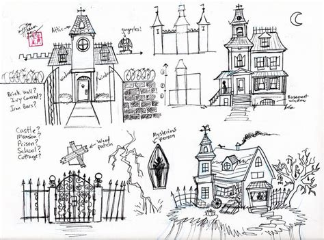 doodle god haunted house 17 best images about doodles and zentangle houses on