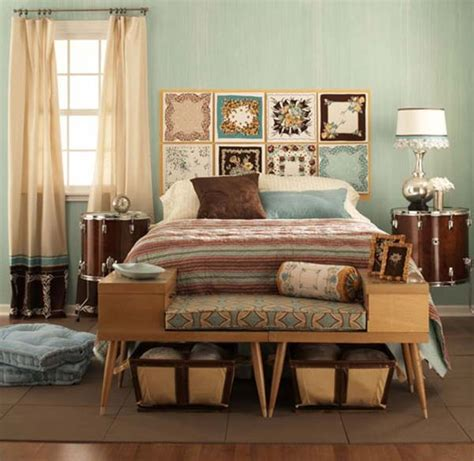 vintage retro bedroom design ideas