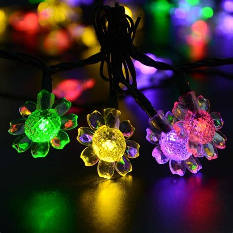 outdoor solar christmas lights solar lights