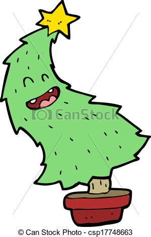 dancing christmas tree picture tree clip vector search drawings and graphics images csp17748663