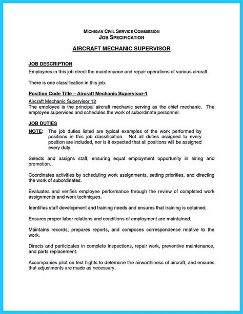 Auto Technician Resume by Writing A Concise Auto Technician Resume
