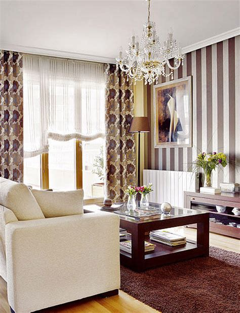 salones cortinas cortinas salon decorar tu casa es facilisimo