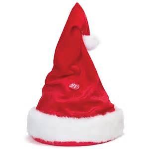 singing and dancing santa hat majdan zabawek