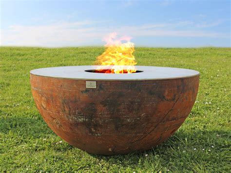 rostige feuerschale grillring hosea himmelgr 252 n buck