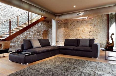 sitzecke wohnzimmer canap 233 d angle dans le salon pour plus de confort 224 la maison