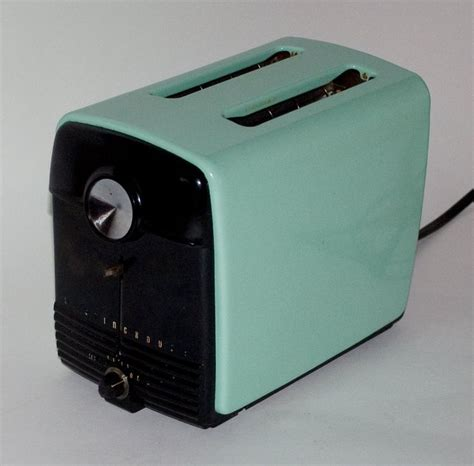 Teal Toaster Oven Vintage Westinghouse Enamel Toaster Iconic Aqua Color