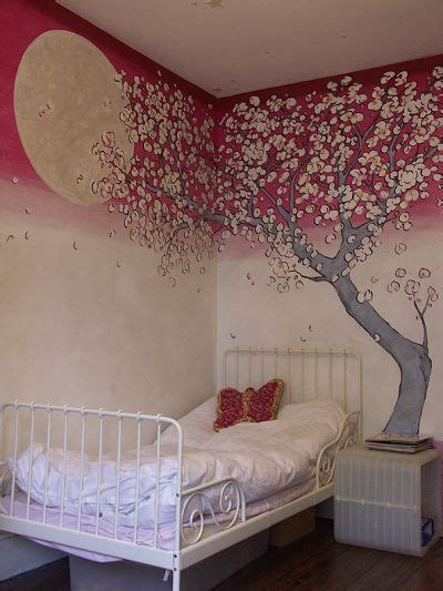 cherry blossom bedroom 40 best unicorn mural amys room images on pinterest