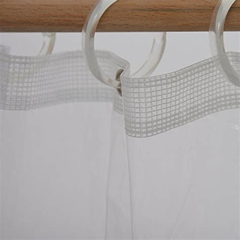 Plastic Shower Liner by Clear Plastic Shower Curtain Liner Heavy Duty Durable