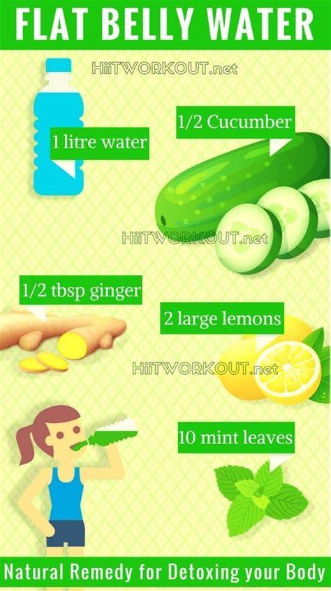 Flat Belly Diet Detox Water by Top 25 Best Flat Belly Water Ideas On