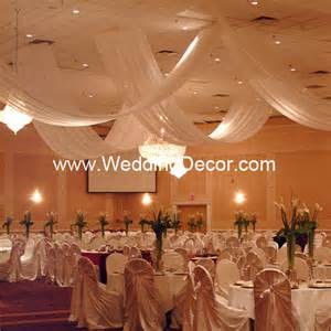 ceiling decor for weddings ceiling canopy and ceiling fabric swags ceiling