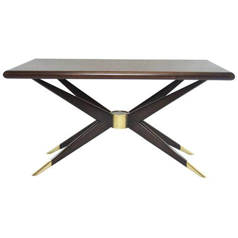 sputnik cocktail table in dark walnut by bonovo for sale