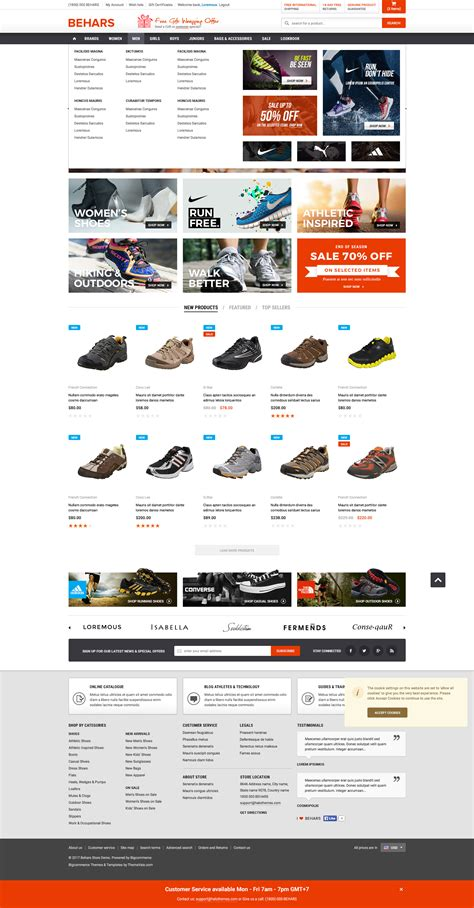 Behars Premium Responsive Bigcommerce Template Stencil Ready Themevale Com Bigcommerce Bigcommerce Stencil Templates