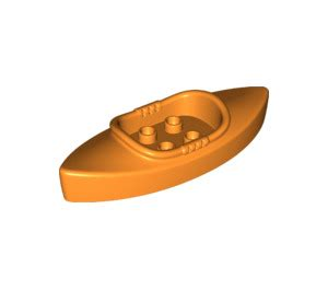 lego boat orange lego orange kayak 23991 brick owl lego marketplace