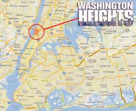 New York Washington Map by Where Is Washington Heights From The Mtv Show Starcasm Net