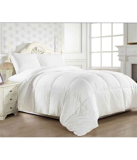 cotton polyester comforter ahmedabad cotton single polyester white plain comforter