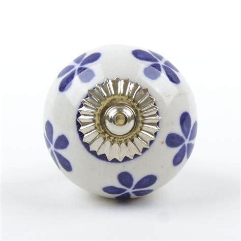 Navy Blue Dresser Knobs by Blue White Navy Ceramic Door Knobs Handles Furniture