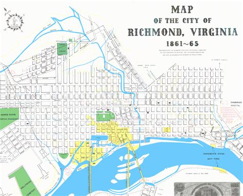 richmond va map rcwcc map of richmond