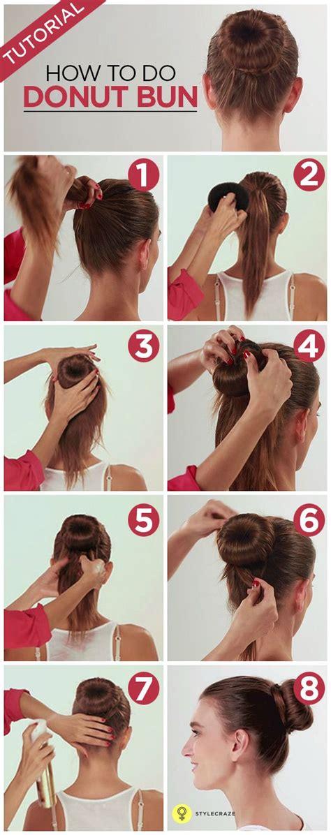 different ways to use donut bun the 25 best donut bun ideas on pinterest hair donut