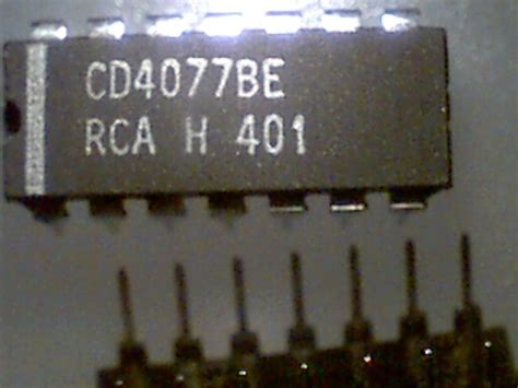 Cd4077be Cd 4077 Be 4077 Abq Techzonics Cmos 40xxx 45xxx Series Digital Ics