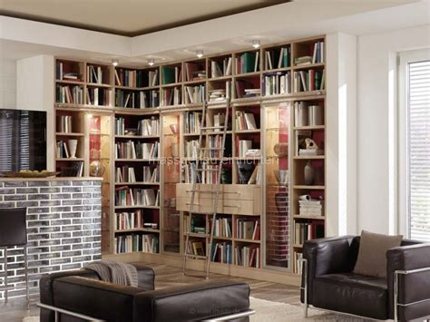 wohnzimmer bibliothek hausbibliothek regalwand im wohnzimmer stunning