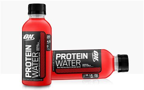 protein 20 infused water optimum nutrition develops line of protein infused waters