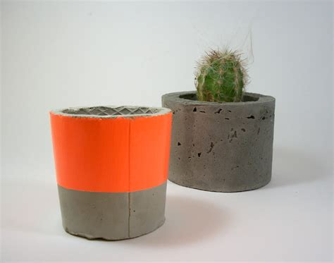 modern planters indoor dachshund in the desert handmade concrete planters