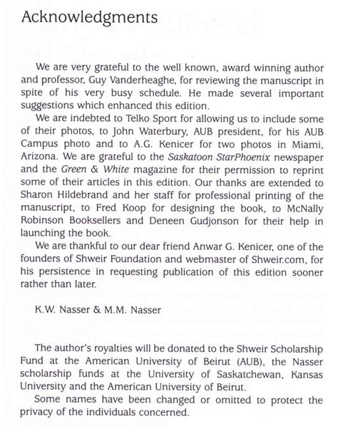 Acknowledgement Letter For Book Of Ph D Thesis Acknowledgements