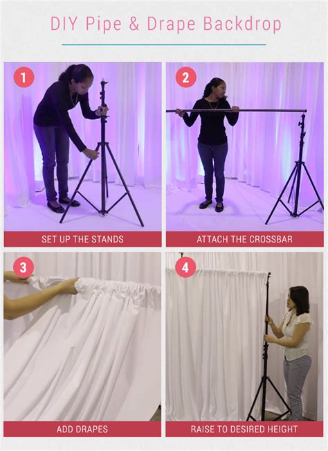 Wedding Backdrop Rental Near Me by 8 Gorgeous Pipe Drape Wedding Backdrops Bridalpulse