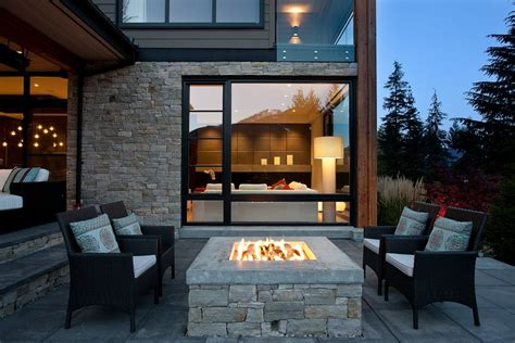Modern Outdoor Fireplace Ideas by Where To Install Your Modern Outdoor Fireplace Fireplace
