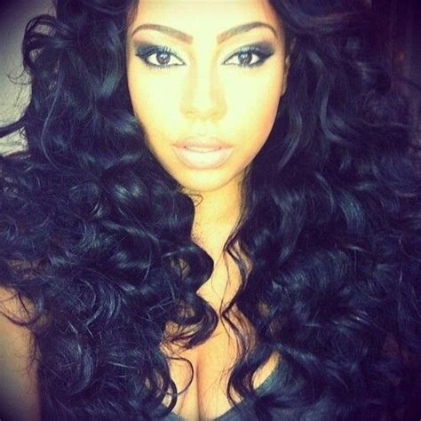 chemical curls for black hair curly weave prom pinterest lace lace closure and