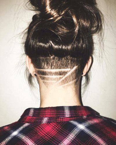 shaved hairstyles with design undercut designs tumblr hair beauty pinterest