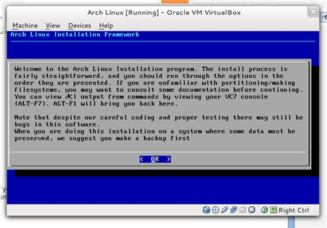 linux tutorial step by step installing arch linux base system detailed and easy step
