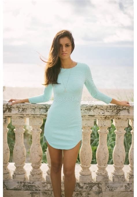 Mint Simple Casual Sale Promo At mint bodycon dress with textured fabric and sleeves carley escloset mint dress
