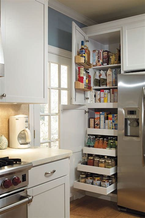pantry ideas for small kitchen 25 best ideas about small kitchens on small