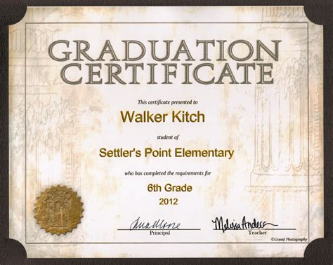 kandid memories walker s 6th grade graduation