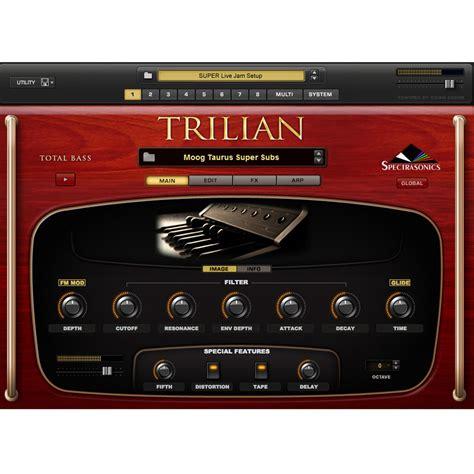Spectrasonics Trillian Bass spectrasonics trilian total bass module at gear4music