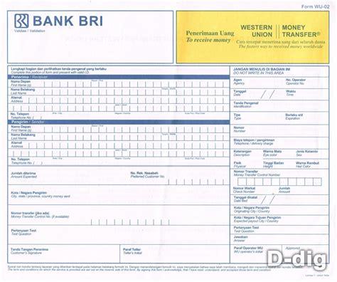 contoh slip pembayaran atau bukti transaksi dalam