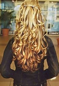 reverse ombre curls short hairstyle 2013 hair ombre red reverse google search long curly or