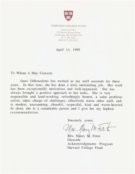 Harvard Letter Of Recommendation Harvard Letter Of Recommendation Ideas Sle Cover Letter Harvard The Best Letter Sle