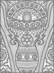 mosaic coloring books free coloring pages of mosaic color by number