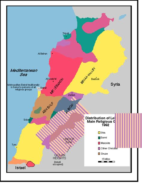 middle east map religion middle east relations 1973 to 1995