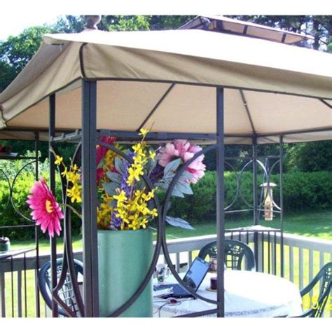 2010 Nantucket 10 x 10 Gazebo Replacement Canopy   Gazebos