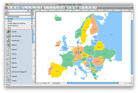 map drawing program map software create great looking maps flags charts and