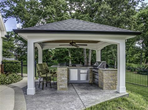 Backyard Grill Area Best 25 Outdoor Cooking Area Ideas On
