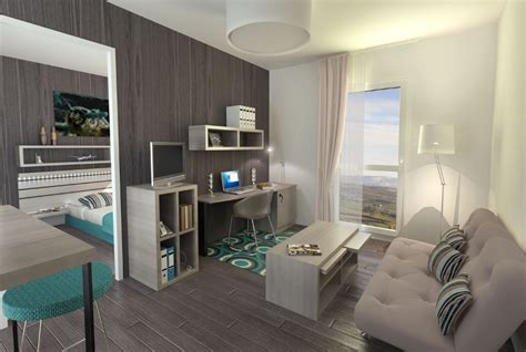 t2 2 chambres easystudent residence etudiante toulouse montaudran