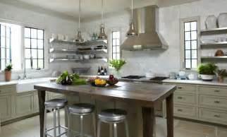 steel shelves for kitchen wide window tile floor stainless steel kitchen