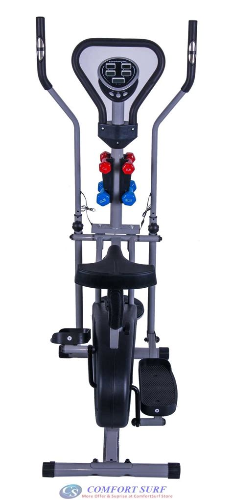 Sepeda Eleptical Cross Trainner Sports Multi Fungsi multifunctional orbitreck air elliptical cross trainer cardio exercise bike fitness