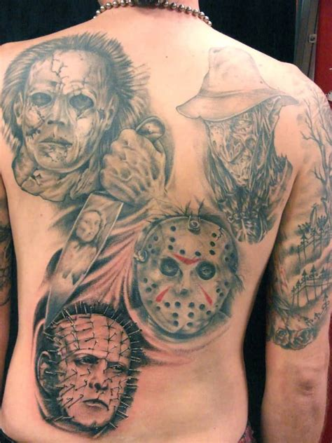 tattoo ideas evil 62 most pinhead tattoos stock golfian