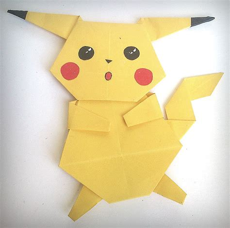 Origami Pickachu - origami pikachu images images